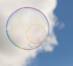 Blue Sky Bubble by richard.heeks, via Flickr