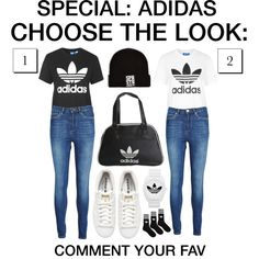 Choose the look #11 by grapefashion on Polyvore featuring polyvore, moda, style, adidas, Zoe Karssen and adidas Originals