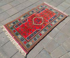 Anatolia Turkish Rug x Hand Woven Wool Ayvacik Kilim Carpet x Turkish Kilim Rugs, Wool Area Rugs, Carpets, Bohemian Rug, Hand Weaving, Ebay, Farmhouse Rugs, Rugs, Hand Knitting