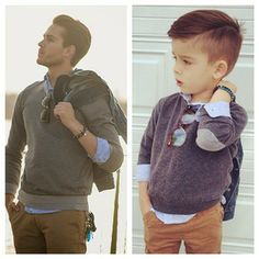 this will be my future child  This Adorable 4-Year-Old Instagram Star Hacks Famous Dudes' Style