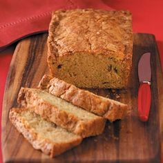 Pina Colada Zucchini Bread Recipe from Taste of Home -- shared by Sharon Rydbom of Tipton, Pennsylvania