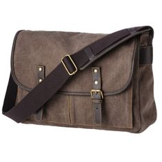 41077e7dc0b Merona® Men s Canvas Messenger Bag - Brown Purses And Bags, Mens Luggage,  Luggage
