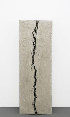 Christoph Weber - Not yet titled, concrete, 2015 Driftwood Sculpture, Sculpture Painting, Abstract Sculpture, Contemporary Sculpture, Contemporary Art, Julien Lacroix, Minimal Art, We Will Rock You, Concrete Art