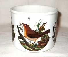 Portmeirion Planter in Birds of Britain