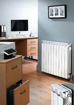 The Apollo Modena Flat horizontal aluminium radiator.The Modena Flat is available in 4 heights. Prices from inclusive of VAT and delivery. Contemporary Radiators, Horizontal Designer Radiators, Bathroom Radiators, Column Radiators, Towel Radiator, Aluminum Radiator, Home And Living, Modern Living, Heat Pump
