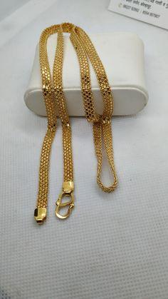 Gold Chain Design, Gold Bangles Design, Gold Jewellery Design, Real Gold Chains, Gold Chains For Men, Jewelry Design Earrings, Gold Earrings Designs, Gold Mangalsutra Designs, Mens Gold Bracelets