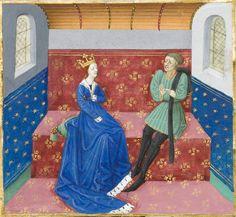 Tristan Et Iseult, Tristan Isolde, Medieval Art, Drawing Lessons, Illuminated Manuscript, Middle Ages, Teaching Resources, Renaissance, Roman