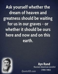 Ayn Rand Quote shared from www.quotehd.com