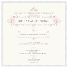 the 65 best christening invitations images on pinterest in 2018