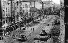 The world's eyes were on Suez when, on November Moscow rolled tanks and troops into Budapest. Hungarians, hoping to evict their Soviet overlords, had recently decapitated a statue of Stalin in their capital. The Valiant, Soviet Army, Military Photos, Iconic Photos, Central Europe, Budapest Hungary, End Of The World, Cold War, World History