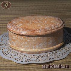 Керамическая шкатулка Розовый мрамор ручной работы купить в интернет магазине Рукоделец