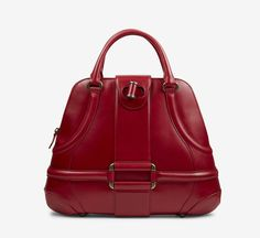 Alexander McQueen Red Handbag