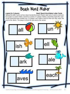 FREEBIE - End of Year Games Freebie by Games 4 Learning is a collection of 7 printable games for End of Year celebrations!