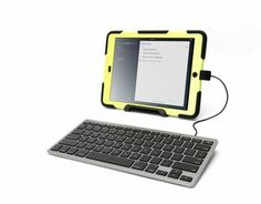 If you are an iOS device user especially an iPad user and looking for a wired keyboard, then you will be pleased to know that Griffin technology has recently launched a new Wired Keyboard for iOS devices such as iPhone, iPad or iPod touch. Ios, Bluetooth Keyboard, Computer Keyboard, Tech Gadgets, Cool Gadgets, Ipod Touch, Cable, Gadget Review, Ipad Accessories