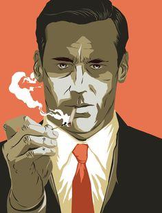Mad Men   Matt Taylor Illustration