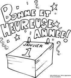 Image associée New Year 2018, Teaching French, Nouvel An, Project Life, Preschool, Bullet Journal, Education, Recherche Google, Christmas