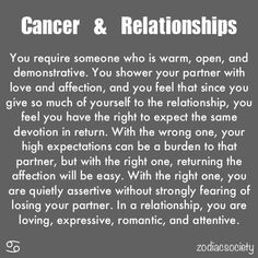 Cancer & relationships: