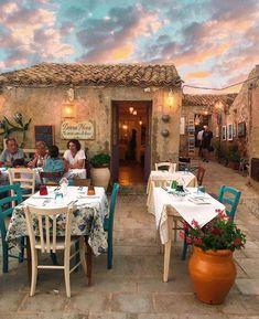 Marzamemi, Sicilia @rosaliaacampora Sorrento Italy, Naples Italy, Sicily Italy, Venice Italy, Toscana Italy, Tuscany, Bohemian Design, Bohemian Decor, Boho Chic
