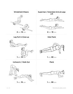 Workout for Men and Women