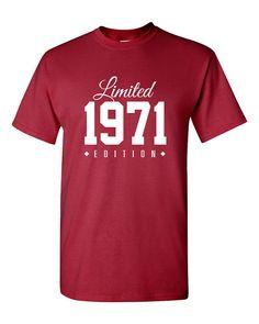 1971 Limited Edition 45th Birthday Party Shirt por TeeHeeHeeShirt
