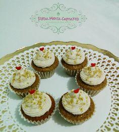 Mini Cupcakes de Té Chai
