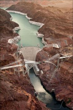Hoover Dam, Arizona/Nevada Border, USA