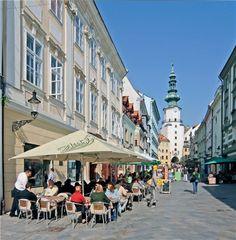 Slovakia, Bratislava, Michalska Street - Korzo