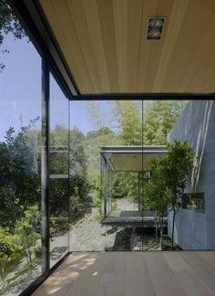 Californian studio Swatt Miers #Architects has designed the Tea Houses project.