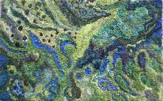 """Peacock Garden"" - Deanne Fitzpatrick."