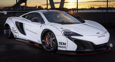 Liberty Walk Takes Another Swing At McLaren 650S