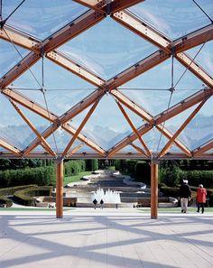 Alnwick Garden Pavilion | Hopkins Architects