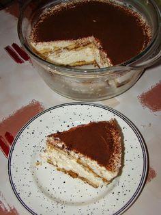 Cristina's world: Tiramisu - dukan style Dukan Diet Plan, Dukan Diet Recipes, Gluten Free Recipes, Stevia, I Foods, Tiramisu, Biscuit, Deserts, Yummy Food