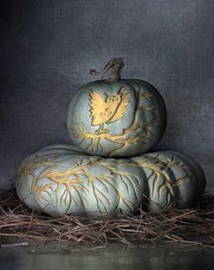prettie-sweet:  Martha Stewaet  #autumn #pumpkins #grey