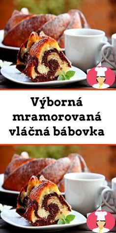 Výborná mramorovaná vlácná bábovka French Toast, Breakfast, Food, Morning Coffee, Essen, Meals, Yemek, Eten