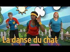 La danse des animaux : La danse du chat - YouTube