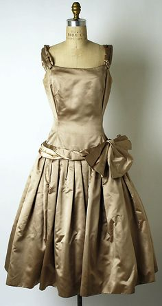 Cocktail Dress  House of Dior  fall/winter 1954–55