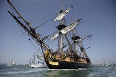 L'Hermione | Setting sail for America April 2015