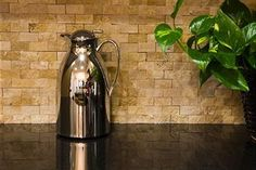 backsplash ideas for dark brown countertops | ... material, you can try backsplash designs with granite countertops