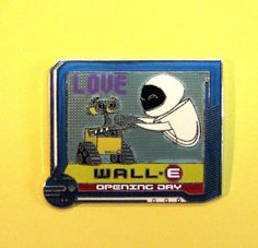 Disney DLR WALL-E Eve Opening Day LE Pin 61759