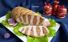 Érdekel a receptje? Meat Recipes, Dinner Recipes, Cooking Recipes, Cold Dishes, Hungarian Recipes, Picnic Foods, No Cook Meals, Pork, Food And Drink
