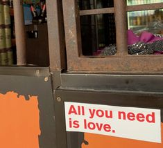 a small splash of orange a big splash of love  #aynil #orange #sticker #love #streetart #aynil_org #allyouneed #nofilter #photography #art #allyouneedislove All You Need Is Love, Street Art, Sticker, Decals, Urban Art, Stickers