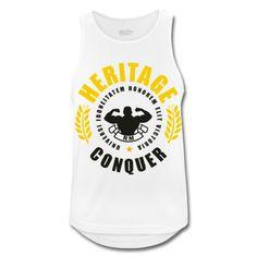 HERITAGE CONQUER Tank Top | ricomocellin