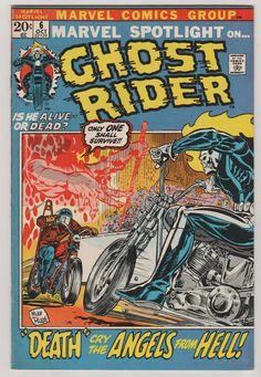 Marvel Spotlight V1 6.  VF/NM.  October 1972 by RubbersuitStudios #ghostrider #comicbooks #mikeploog