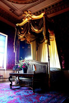 Holkham Hall Interiors   Holkham Hall, Norfolk, UK. Constructed in the Palladian style for ...