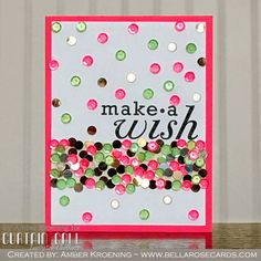 Curtain Call Inspiration Challenge: Pretty & Pink. Card created by design team member Amber Kroening using products from Pretty Pink Posh.