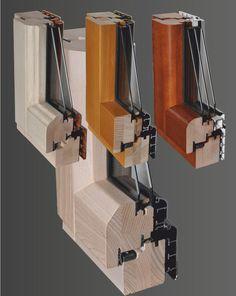 Finestre e Portefinestre in Legno/Alluminio - tipo SFERA --- Windows and French doors Wood / Aluminium - type SFERA - Fenêtre en Bois / Aluminium -  type SFERA