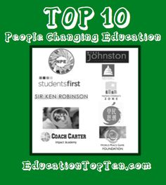Top 10 People Changing Education http://tinyurl.com/kqdg65o