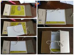Cookie Cases into sketch books