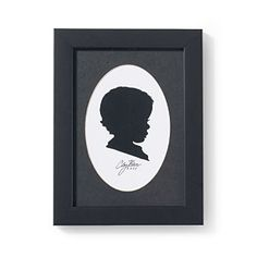 Christmas Gifts for $50 or Less | Custom Silhouette | SouthernLiving.com. I so want to have a silhouette of all five kids