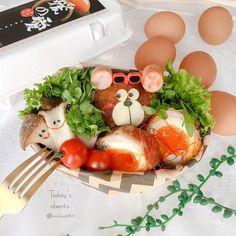 442 個讚好,32 則回應 - Instagram 上的 michiyo(@michiyo0815):「 ◌⋆*❁*⋆ฺ。*June.5.2020⋆*❁*⋆ฺ。* * * * *おはようございます◡̈*♡ * * * *今日のお弁当🍙 * * *肉巻き卵 *エリンギバター *カイワレハム巻き * *… 」 Cute Bento Boxes, Eggs, Breakfast, Instagram, Food, Morning Coffee, Egg, Meals, Egg As Food